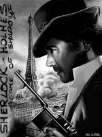 Sherlock Holmes a Game of Shadows by FcoVillalba