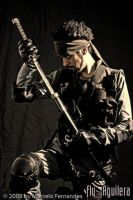 Solid Snake Cosplay by flyaguilera