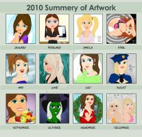 2010 Summery of Art by andart