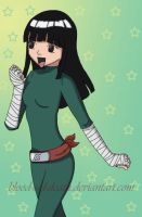 Rock Lee Colored by blood-red-death