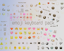 Keyboard Icons. by am-diwn