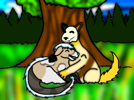 Request for Wolflover001 by Pandahhs