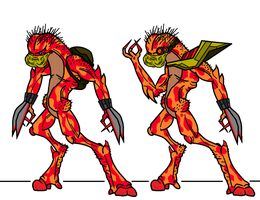 Pyron Tamers by oozy5000