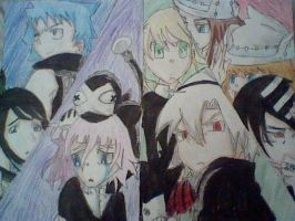 Soul Eater Characters by Animeangel6