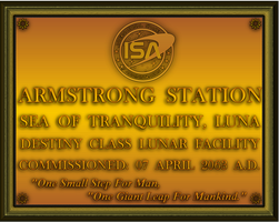 Armstrong Station Plaque by viperaviator