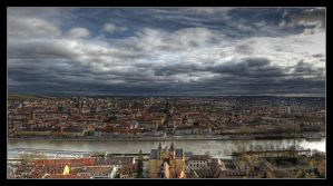 Above Wuerzburg II by smou81