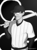 Markiplier the Batter by APELSINASAUR