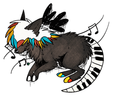 piano tail. by coonbutts