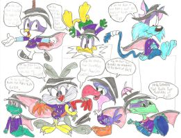 Darkwing Toons by ThrillingRaccoon
