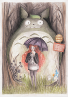 her neighbour totoro by Chowkarou