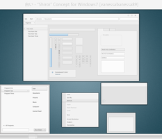 Shiroi - A Light CONCEPT for Win7 by vanessabanessa89