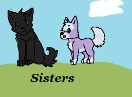 Sisters by tanya-is-a-fox