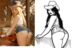 Alexis Texas pic drawing by BubbleBum420