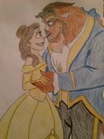 Beauty and the Beast by GamerPrincess42