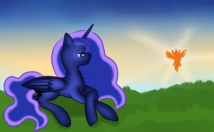 Luna morning by ByVikaWorks
