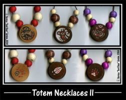 Small Totem Necklaces II by Gishkishenh
