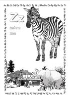 alphabet coloring pages Zz copy copy by jbeverlygreene