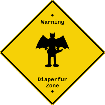 Diaperfur Zone Sign by thepouar