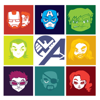 They became The Avenger Bunch by NickEck
