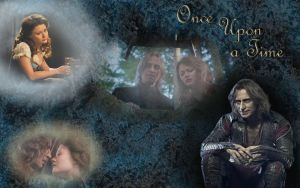 Beauty and the Beast wallpaper -once upon a time- by mirabelle25