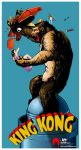 King Kong classic poster remake by aremanvin