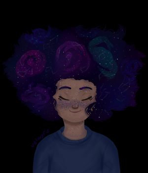 constellations on her skin by valwyrie