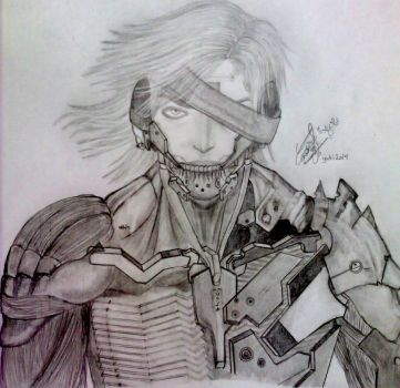 metal gear rising - Raiden by NoNoyuki