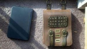 Steampunk Adventurers tablet bag by theDOC30427