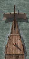 Galleon Small 1 Top Deck by Madcowchef
