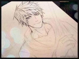 Young adult Jack Frost - Sketch by Laovaan