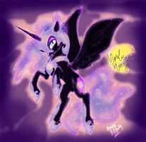 Night mare mooooooooon by LAUBoZ