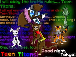 Teen Titananimals by qrayson