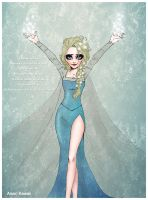 Elsa by AissriKawaii