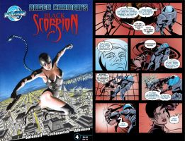 black scorpion comic issue 4 by westwolf270