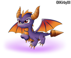 Spyro of Skylands by llKirbyXll