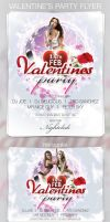 Valentine's Party Flyer by ArtoriusGothicus