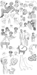 some of the stuff in this sketchdump are ANCIENT by MusicalFire