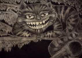 The Cheshire Cat by ShatteredSwords