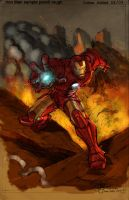 Iron Man by DrewEiden