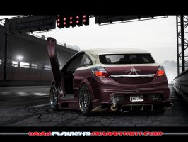 Opel Astra OPC by Flameks