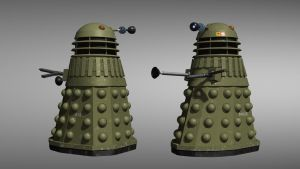World war 2 Dalek (version 2) by Jim197