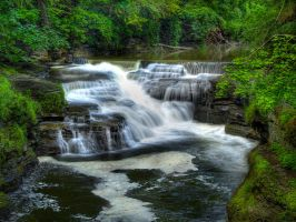 Lovers Falls 1 by Dracoart-Stock