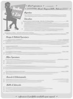 My Resume Layout by MyPe4nuT