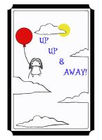 UP UP and AWAY Graphic Tee by mythicdragon30