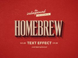 Retro Vintage Text Effect No.20 by IndieGround