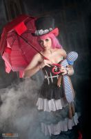 Perona from One piece by OrdinaryOrganika
