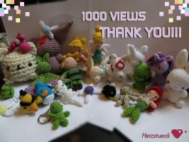 1000 Views !! by Herzstueck-Handmade