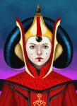 Star Wars: Amidala as a queen by Masanohashi