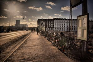 Bicycle city by tomsumartin