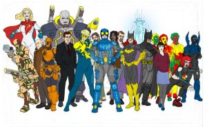 New 52 Ted Kord Cast and Crew by Needham-Comics